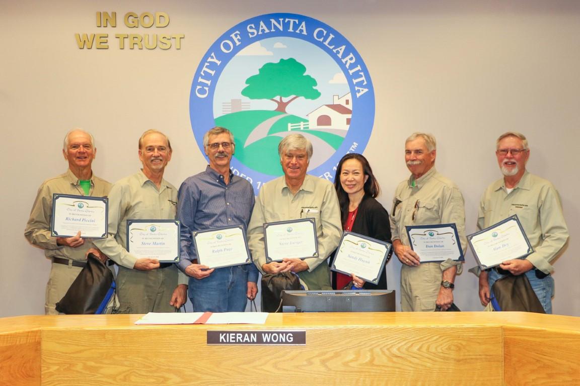 MRCA Volunteer Recognition
