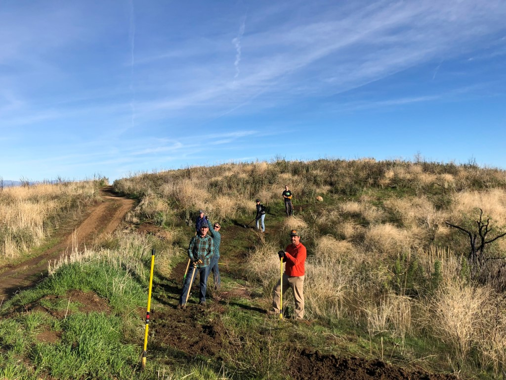 SCV Trail Users Work on Trails at East Walker Ranch