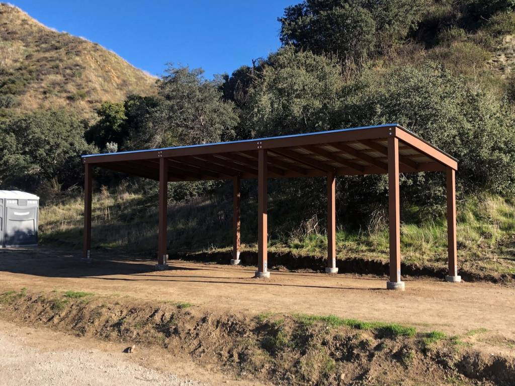 Eagle Scout Project: New Shade Structure