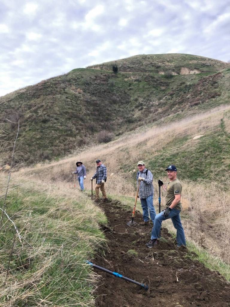 New Trails, Thanks to SCVTU!